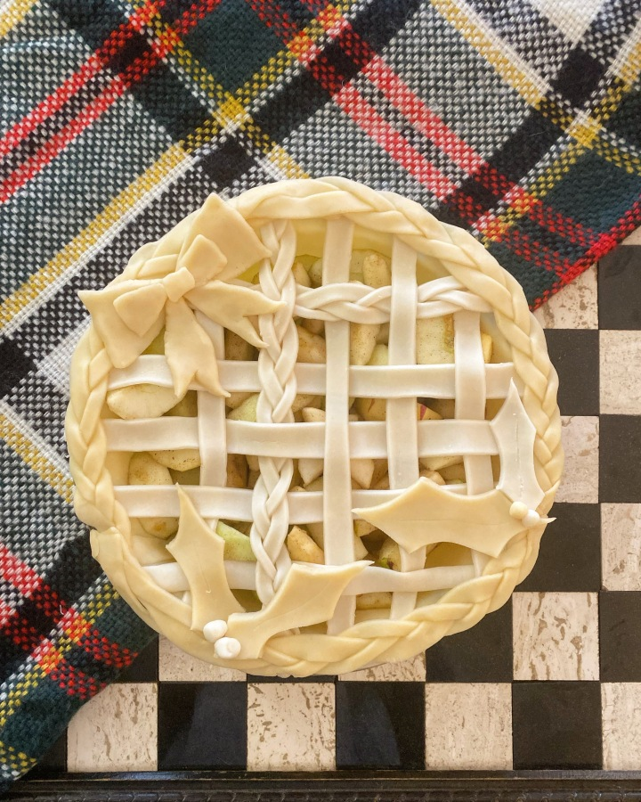 Festive Apple Pie Designs