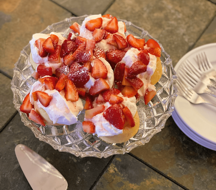 Easy and Delicious Strawberry Shortcake